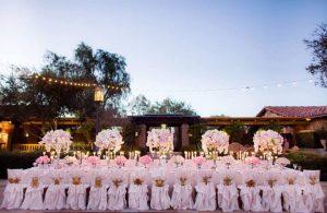 Bảng giá cho thuê bàn ghế đám cưới