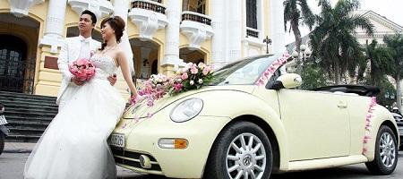 Xe cưới, Xe hoa