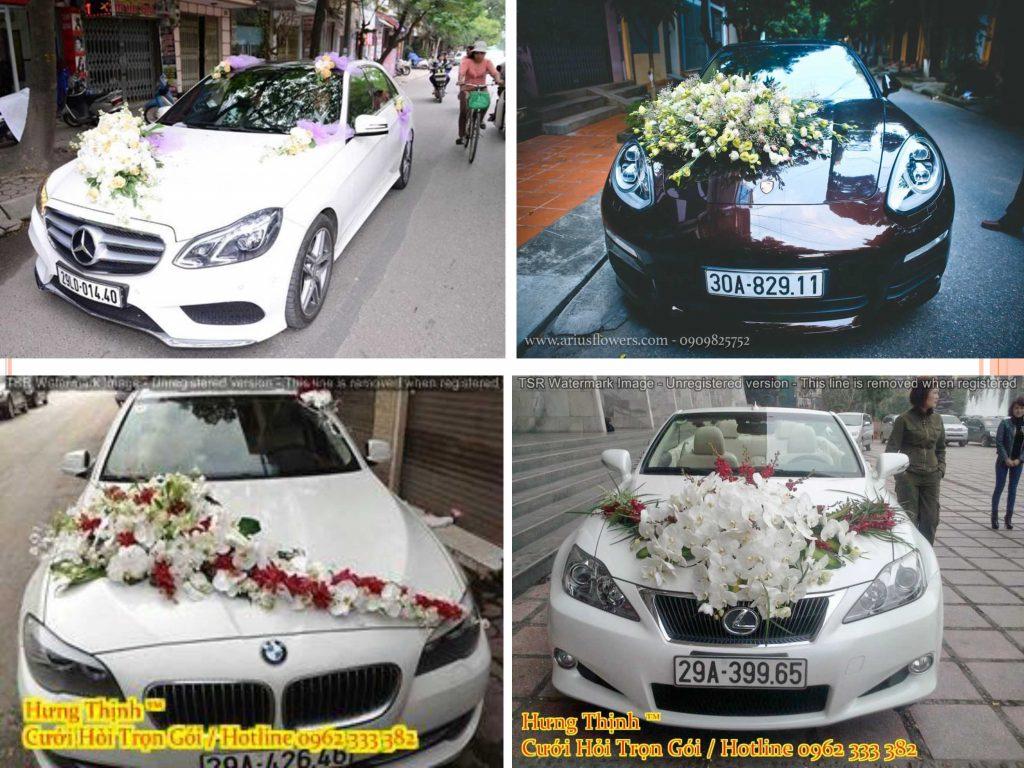 Dịch vụ xe hoa đám cưới giá rẻ tại Hưng Thịnh