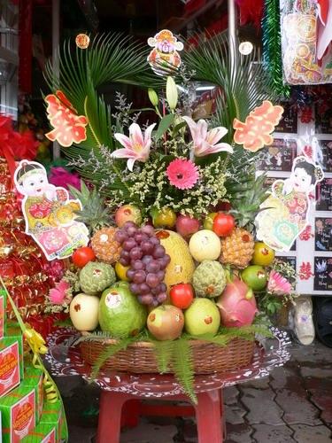 tráp hoa quả