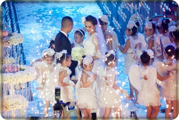 cho thuê thiên thần đám cưới